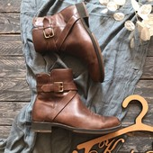 Кожаные ботинки Ecco на Gore-Tex р-р 37