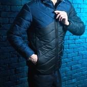 Куртка с капюшоном, демисезонная, 4 цвета