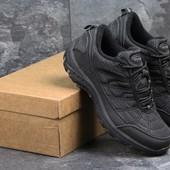 Ботинки мужские Merrell black, термо