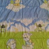 Зимнее детское одеяло 120*100 см.