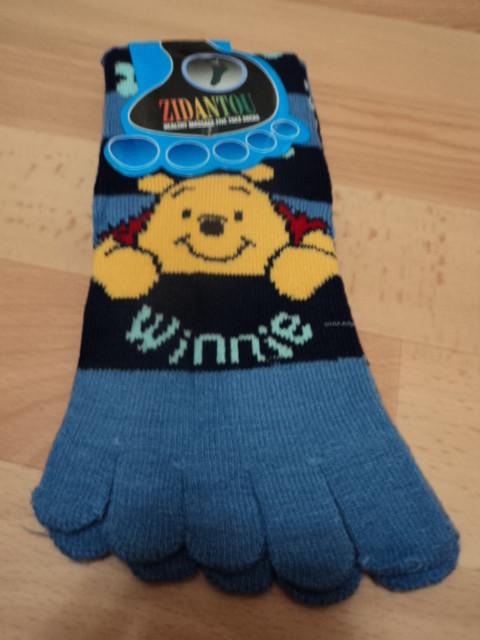 Женские носки пальчики. фото №1