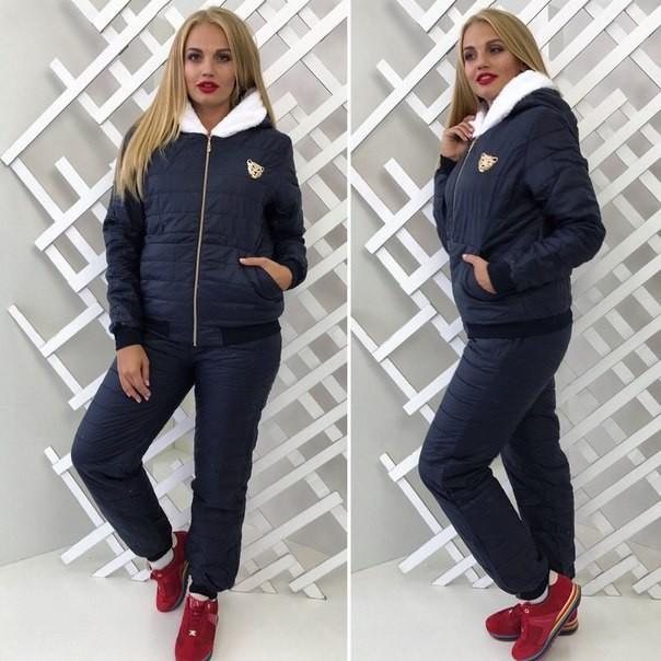 fb4830a8 Теплый зимний спортивный костюм женский в расцветках юкрох, цена 595 ...