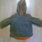 Фирменная куртка курточка 1-2 года
