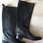 Новые женские сапоги,бренд San Marina,кожаные,39 р