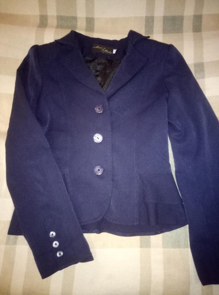Школьный пиджак и вышиваночка фото №1