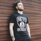 Футболка Brooklyn Nets, Black