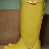 Crocs RainFloe Boot Canary резиновые сапоги. Босния. 37 - 38 р.