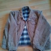 Мужская вельветовая куртка XL