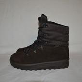 кожаные ботинки Puma gore-tex, р. 40