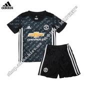 Детская футбольная форма Манчестер Юнайтед 2017-2018 Adidas выездная (2295)