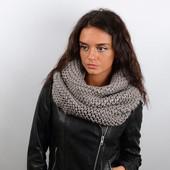Теплый и стильный шарф-хомут Новинка 2017-2018 все цвета в наличии