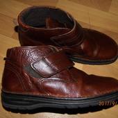 (i235)зимние кожаные ботинки 43 р