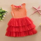Шикарные платья на 1-6 лет
