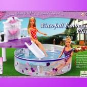 Мебель Gloria 2678 с бассейном для кукол 29 см