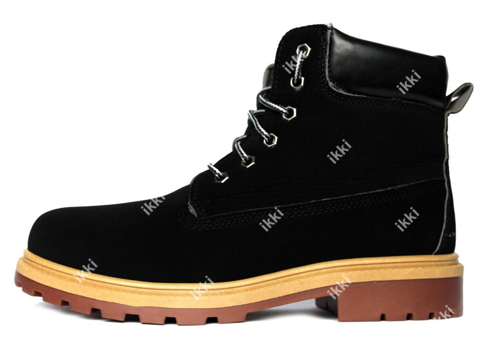 46 р Мужские демисезонные ботинки высокие (1012-1) фото №1