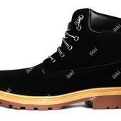 43 р Мужские демисезонные ботинки высокие (1012-1)