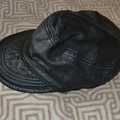 кожанная кепка Wilsons leather оригинал в сост новой размер универсал