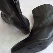 Кожаные демисезонные сапожки ботинки Ecco 41-42 размер