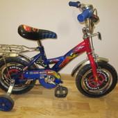 Дитячий двоколісний велосипед  Тачки Маквін 12 дюймів Детский двухколесный велосипед маквин