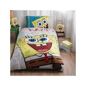 Постельное белье Tac Disney - Sponge Bob Happy 160*220 подростковое 2181