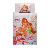 Постельное белье Tac Disney - Winx harmonix flora 160*220 подростковое Код  839