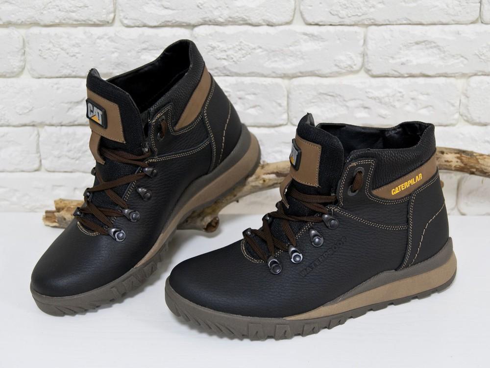 Новинка!!!мужские кожаные ботинки Б-44 фото №1