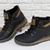 Новинка!!!мужские кожаные ботинки Б-44