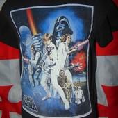 Брендовая стильная футболка Star Wars м .