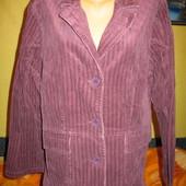 Пиджак стрейчевый, вельветовый,хлопок,женский,54.Etam (Этам).