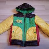 Демисезонная куртка 98-104см