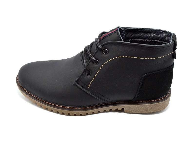 Ботинки мужские кожаные демисезонные на байке Multi-Shoes Webster фото №1