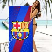 Пляжное полотенце Барселона микрофибра 70*140 см (2339)