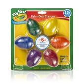 Crayola Первые карандаши в виде яйца 6 цветов my first crayola 6