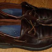 Кожаные мокасины топсайдеры туфли 42 р Timberland