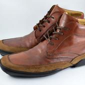 Кожаные ботинки Van Bommel. Стелька 29, 5 см