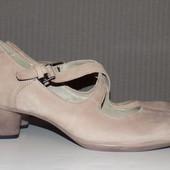 Кожаные фирменные женские туфли ECCO 38-38.5 р - Новые