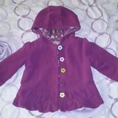 Шикарное пальто флис с подкладкой
