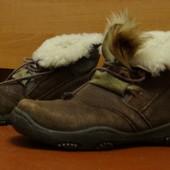 Натуральные зимние ботинки, 37р., Egle