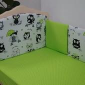 Защитный бампер в кроватку Lux baby Joy 10 ед. (482122)
