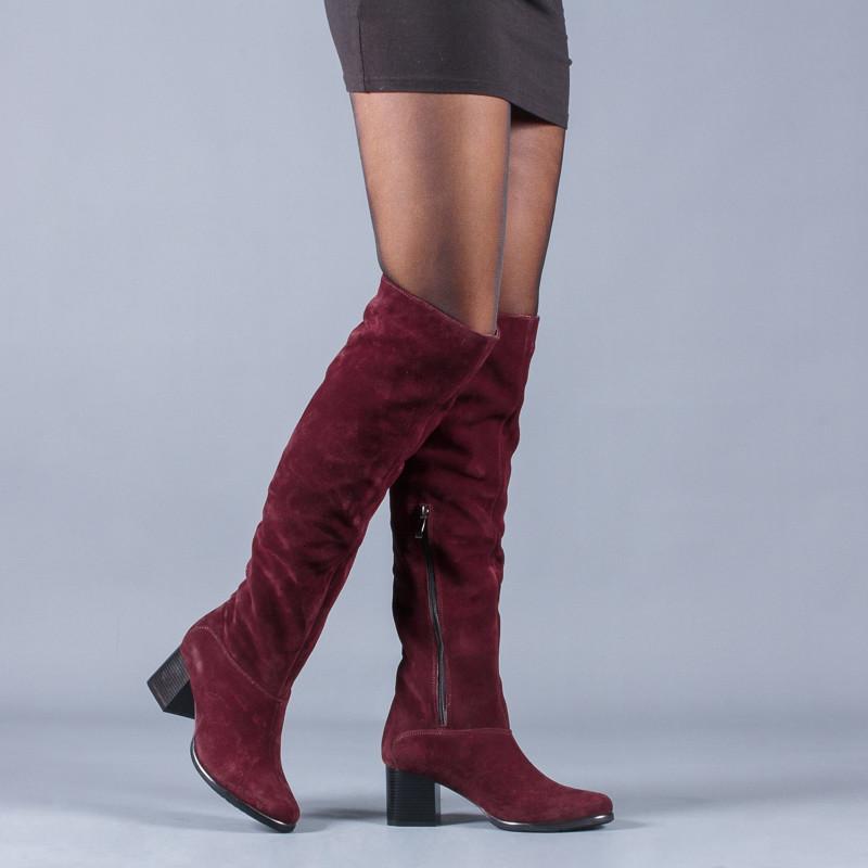 Новинка деми/зима женские кожаные сапоги код лл 85103 фото №2