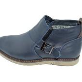 Ботинки мужские кожа зимние на меху Multi Shoes Solt