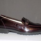 Кожаные фирменные ботинки Schneider 37.5 -38 р на узкую ножку Новые