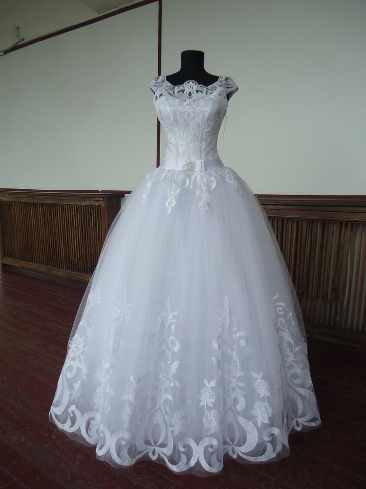 Дизайнерское свадебное платье vip 44-46р.р. фото №1