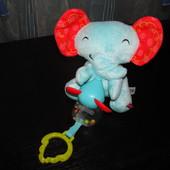 Развивающий слоник с мышкой Fisher Price как новый