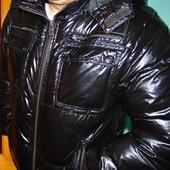 Стильная брендовая курточка пуховик  Puccini (Пучини).л-хл .