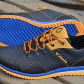 Новинка!!!! кроссовки  натуральная  кожа код Columbia  К-1 с.р