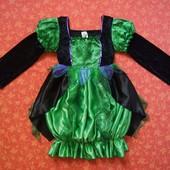 Продаю! 10-11 лет Карнавальное платье Хеллоуин (Halloween), б/у. Хорошее состояние, без пятен. Длина
