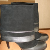 Calvin Klein ботинки, полуботинки, ботильены