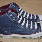 Converse All Star сникерсы  кеды 38р. Оригинал. кожаные ботинки