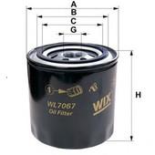 Wix Filters WL7067 фильтр масляный, накручиваемый